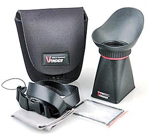 Видоискатель LCD Viewfinder GP-3243 изготовлен из ударопрочного пластика и силиконовой резины. Совместим с фотоаппаратом Nikon D800