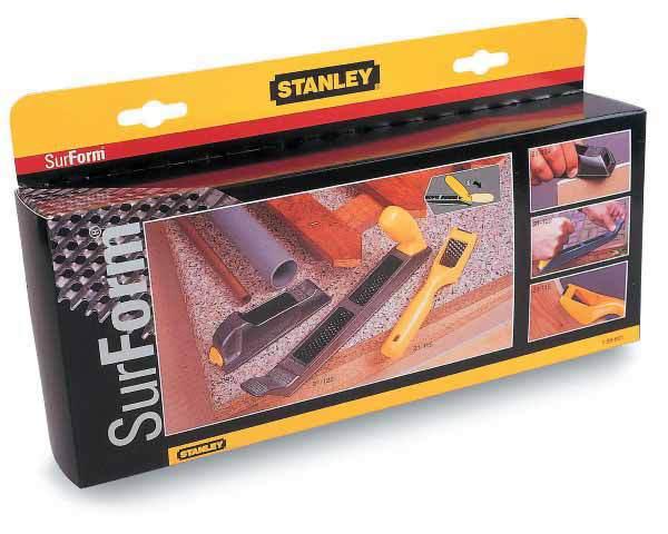 Набор рашпилей Surform 3 предмета Stanley 1-98-801