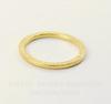 """Коннектор - кольцо TierraCast """"Hammertone"""" 25 мм (цвет-золото)"""