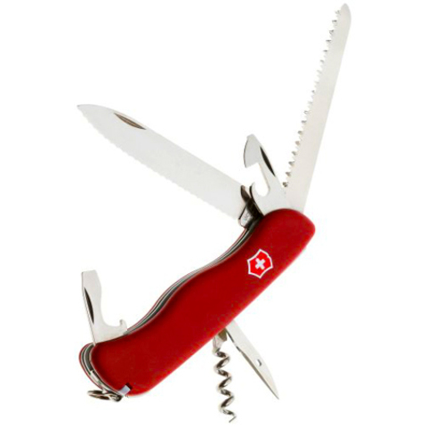 Солдатский нож Rucksack с волнообразной заточкой Victorinox (0.8863.W)