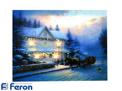 Световая картина «Канун Рождества» (Feron)