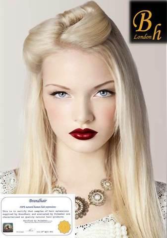 Набор 10 прядей,цвет #613-maxi блонд
