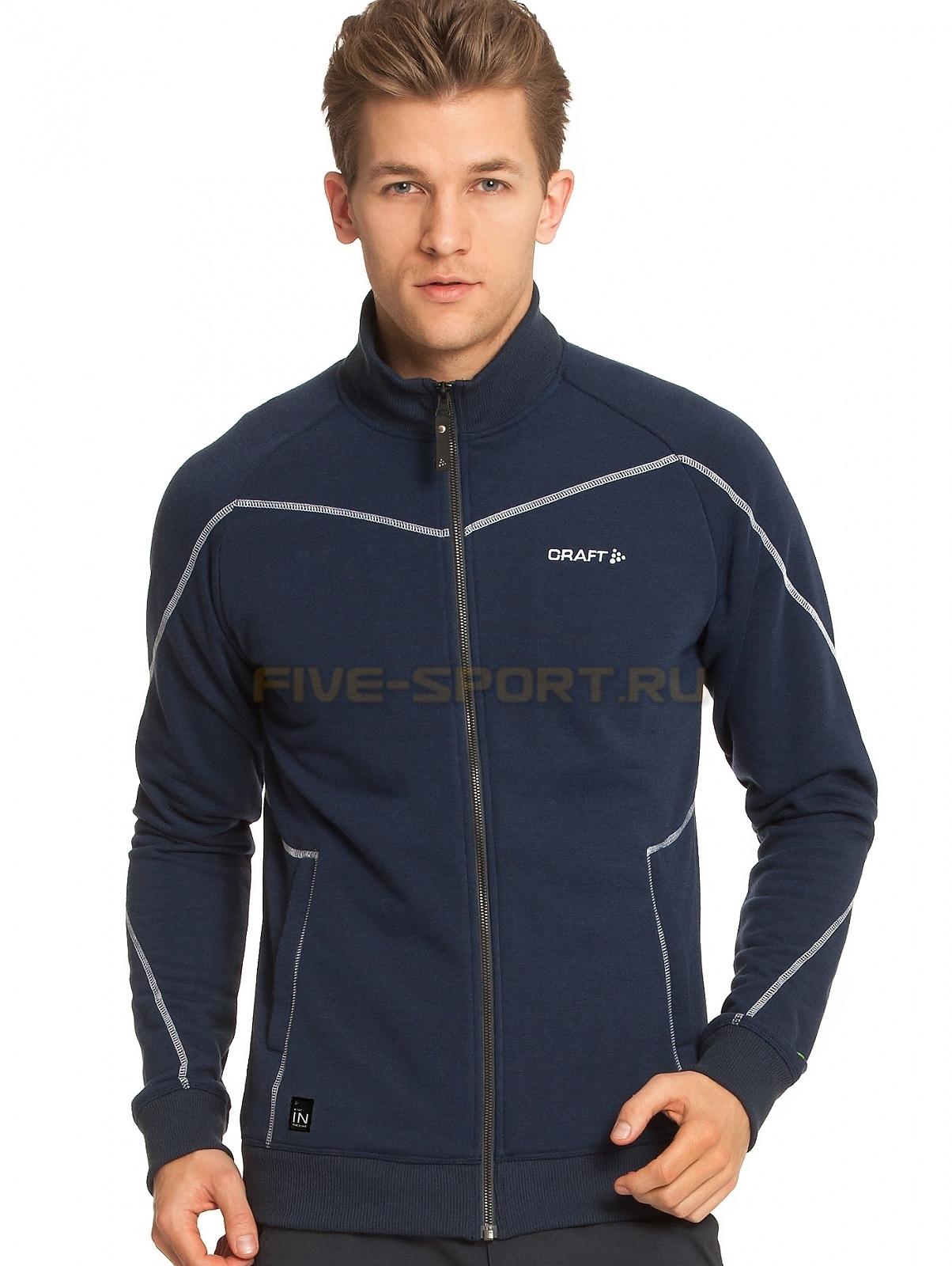 Мужская флисовая куртка Craft In the Zone синяя (1902636-2395) фото