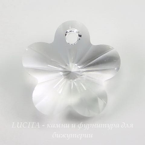 6744 Подвеска Сваровски Цветочек Crystal (12 мм) ()
