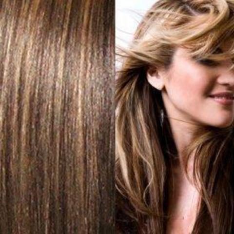 Наборы long цвет #4-#27- меллированые волосы 60 см-Вес набора 140 грамм