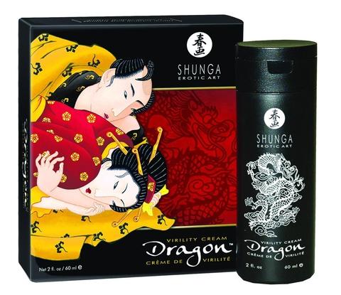 Интимный мужской крем стимулирующий Shunga DRAGON CREAM 60 МЛ