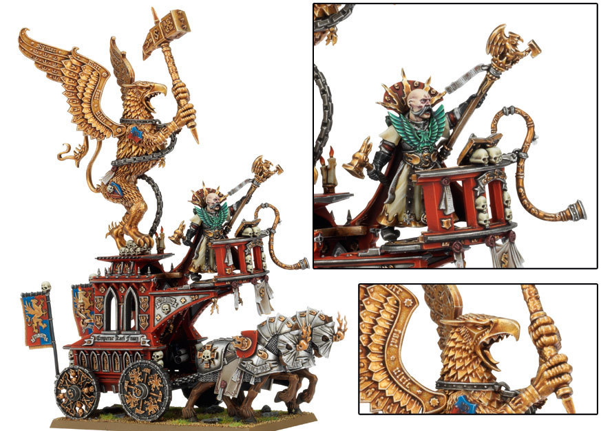 Volkmar the Grim on The War Altar of Sigmar