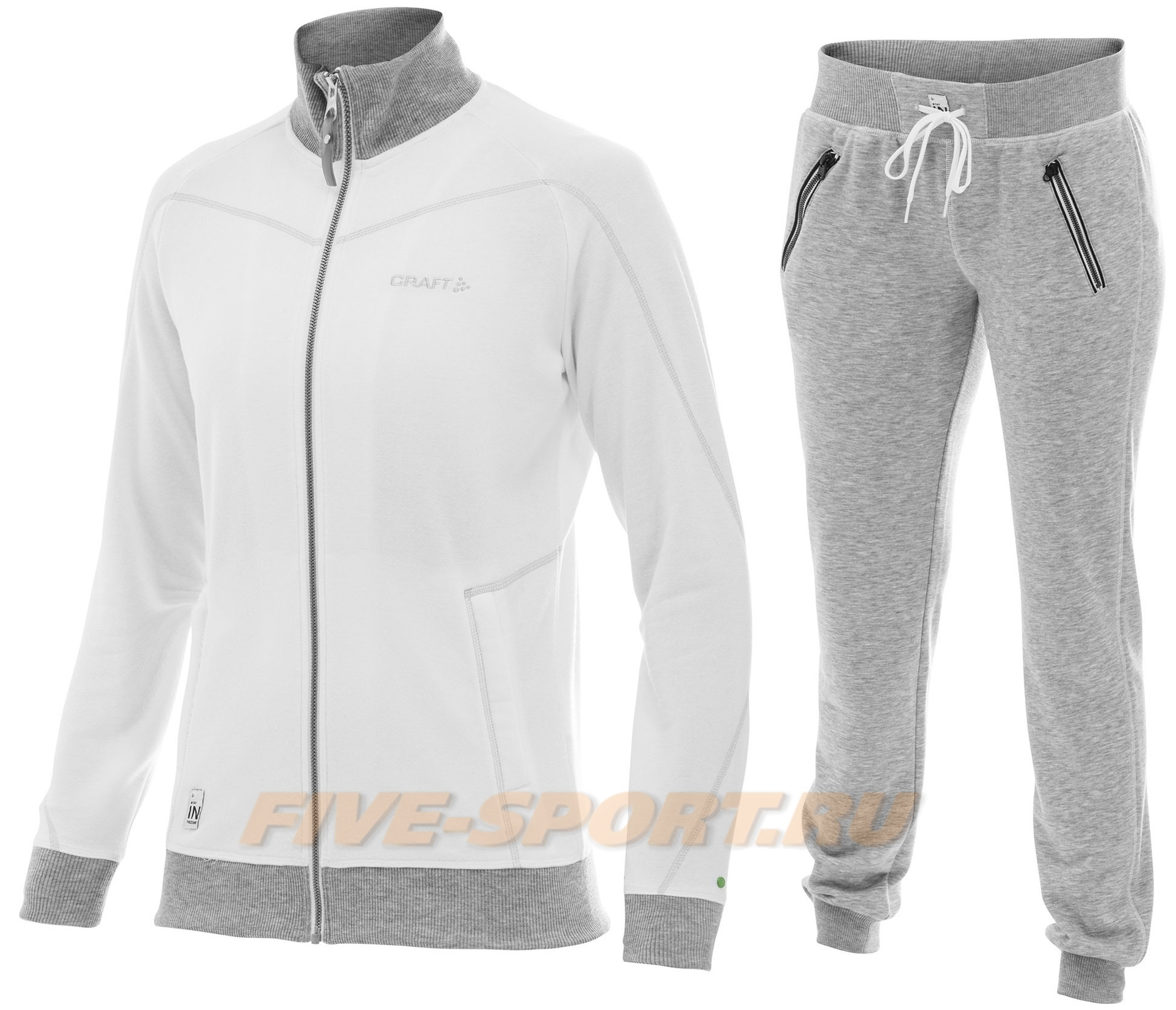 Костюм спортивный женсий Craft In The Zone white для бега