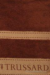Набор полотенец 2 шт Trussardi Golf коричневый