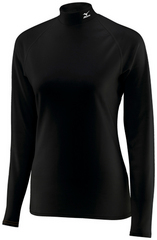 Термобелье Рубашка женская Mizuno Mid Weight Solid High Neck