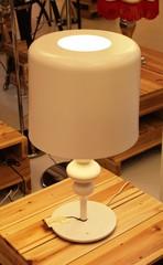 Настольная лампа Masi Eva TL3+1G Bianco