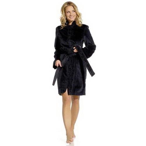 Элитный халат махровый Fiona антрацит от Vossen