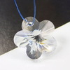 6744 Подвеска Сваровски Цветочек Crystal (20 мм) ()