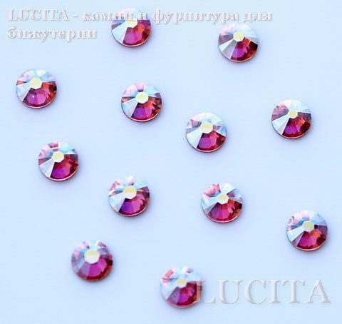 2028/2058 Стразы Сваровски холодной фиксации Light Rose AB ss12 (3,0-3,2 мм), 12 штук ()