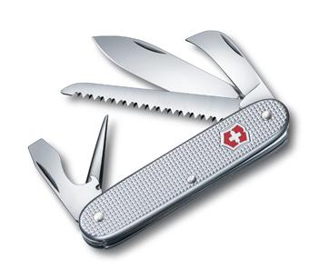 Нож Victorinox Pioneer, 93 мм, 7 функций, серебристый