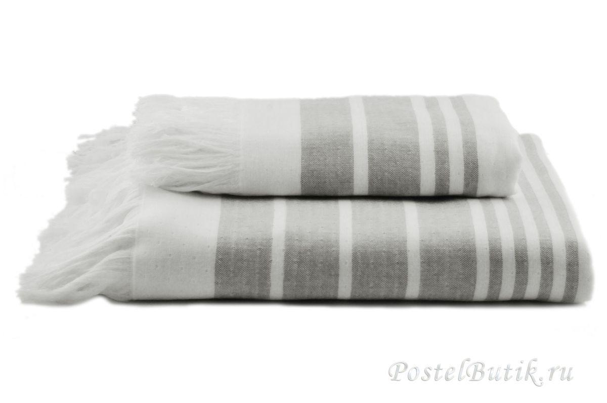 Полотенца Полотенце 50x100 Hamam Marine Towel серое elitnoe-polotentse-hlopkovoe-beliy-seriy-ot-hamam-turtsiya.jpg