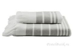 Полотенце 50x100 Hamam Marine Towel серое