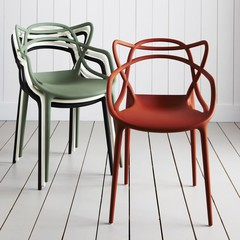 стул The Masters chair by Philippe Starck design ( kartell ) - красный
