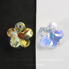 6744 Подвеска Сваровски Цветочек Crystal AB (18 мм)