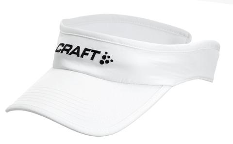 Кепка козырек Craft Running Visor белый