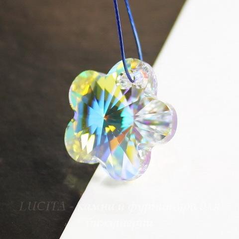 6744 Подвеска Сваровски Цветочек Crystal AB (18 мм) ()