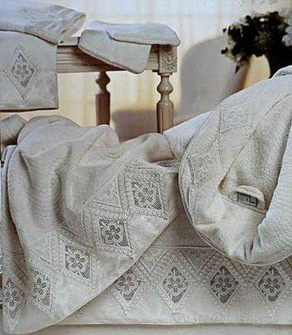 Полотенце 100х150 Lady Laura Chiara натуральное