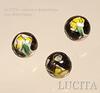 """Бусина фарфоровая ручной работы, шарик ,""""Цветы на черном фоне"""", 10 мм ()"""