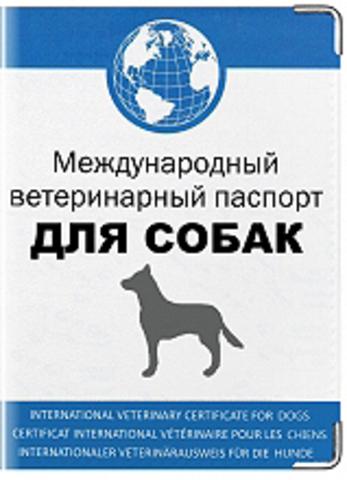 """Обложка для """"Международного ветеринарного паспорта для собак"""" (1)"""