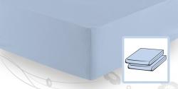 На резинке Элитная простыня трикотажная 8000 светло-голубая от Elegante elitnaya-prostinya-na-rezinke-goluboy-02-ot-elegante-germaniya.jpg