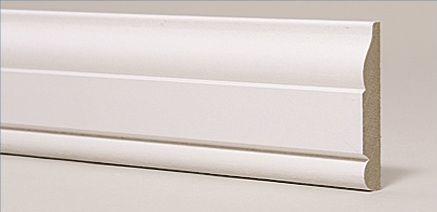 William Howard плинтус из МДФ Ogee M & Bead OMB-241268, интернет магазин Волео