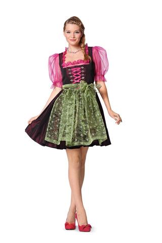 Выкройка Burda (Бурда) 7057 — Баварский костюм