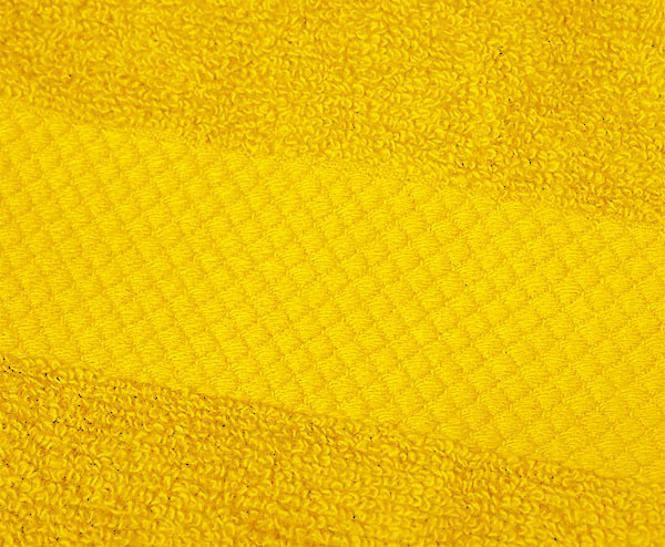 Полотенце 33х33 Mirabello Microcotton желтое