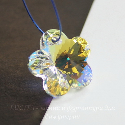 6744 Подвеска Сваровски Цветочек Crystal AB (20 мм) ()