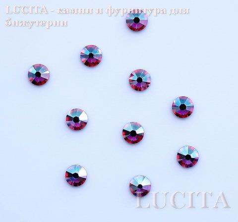 2028/2058 Стразы Сваровски холодной фиксации Rose AB ss12 (3,0-3,2 мм), 10 штук
