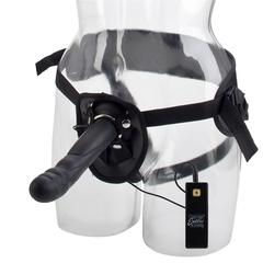 Страпон Harness с вибрацией 10 Function Love Rider Thruster (17,8х3,75 см)