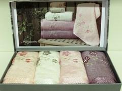 Набор полотенец MARGARITA - МАРГАРИТА  в размере 30*50 /  Maison Dor (Турция)