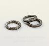 """Коннектор - кольцо TierraCast """"Hammertone"""" 13 мм (цвет-черный никель)"""