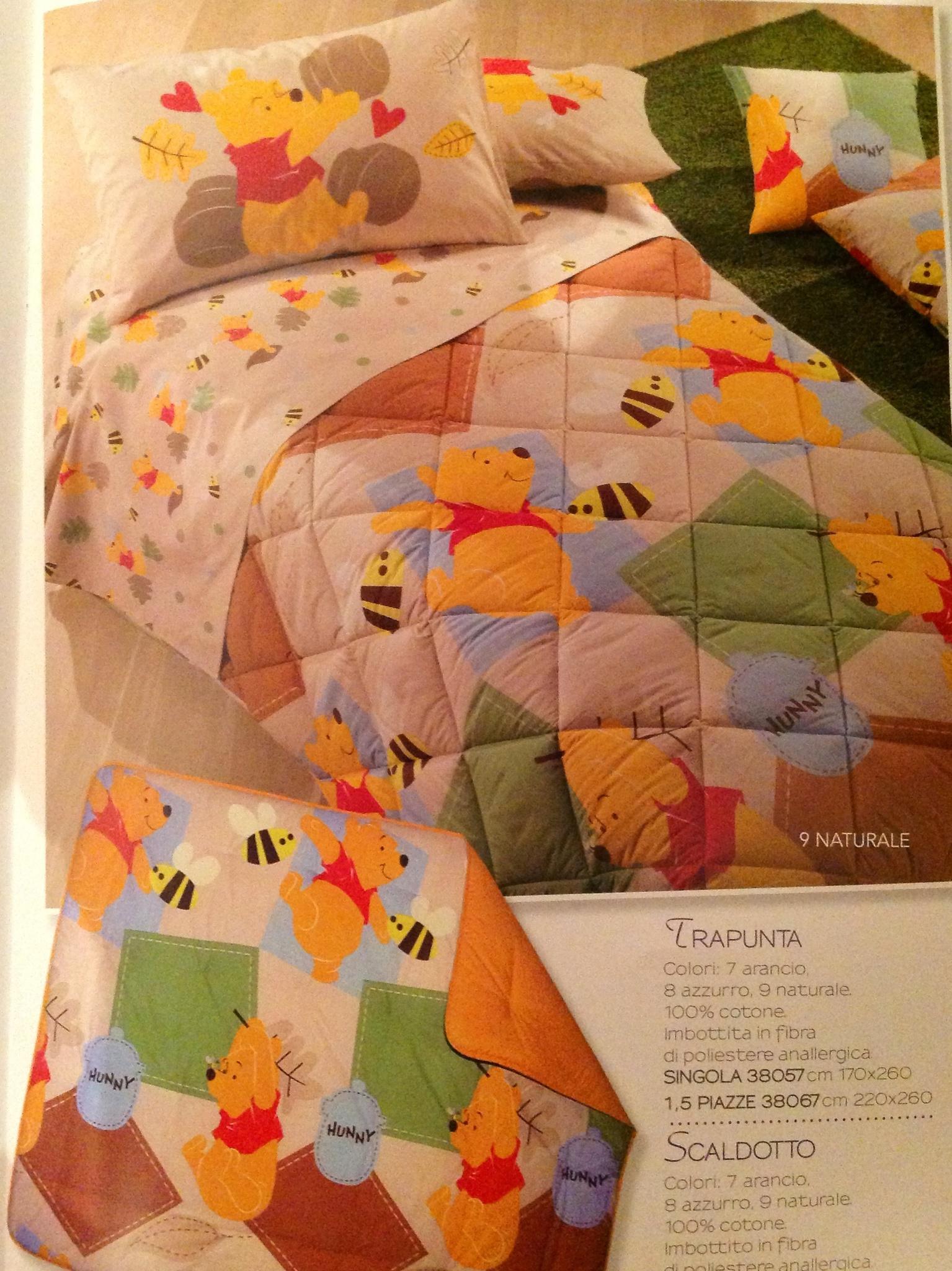 Детское постельное белье Caleffi Pooh Festosa