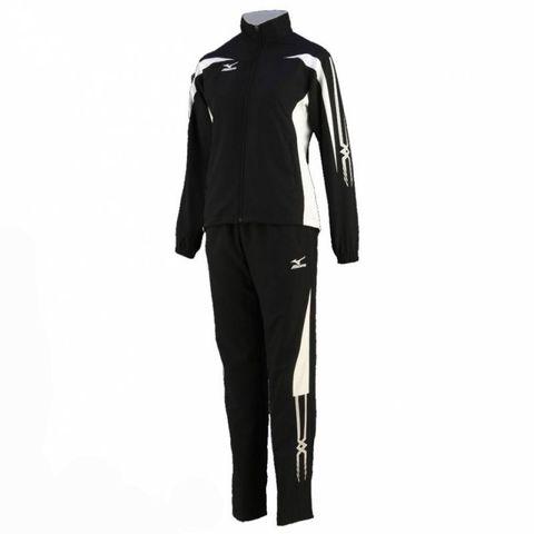 Спортивный костюм Mizuno Woven Track Suit (W) чёрный