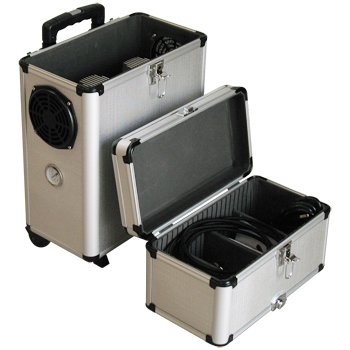 Компрессор Sparmax AC-500MB в чемодане на колесиках
