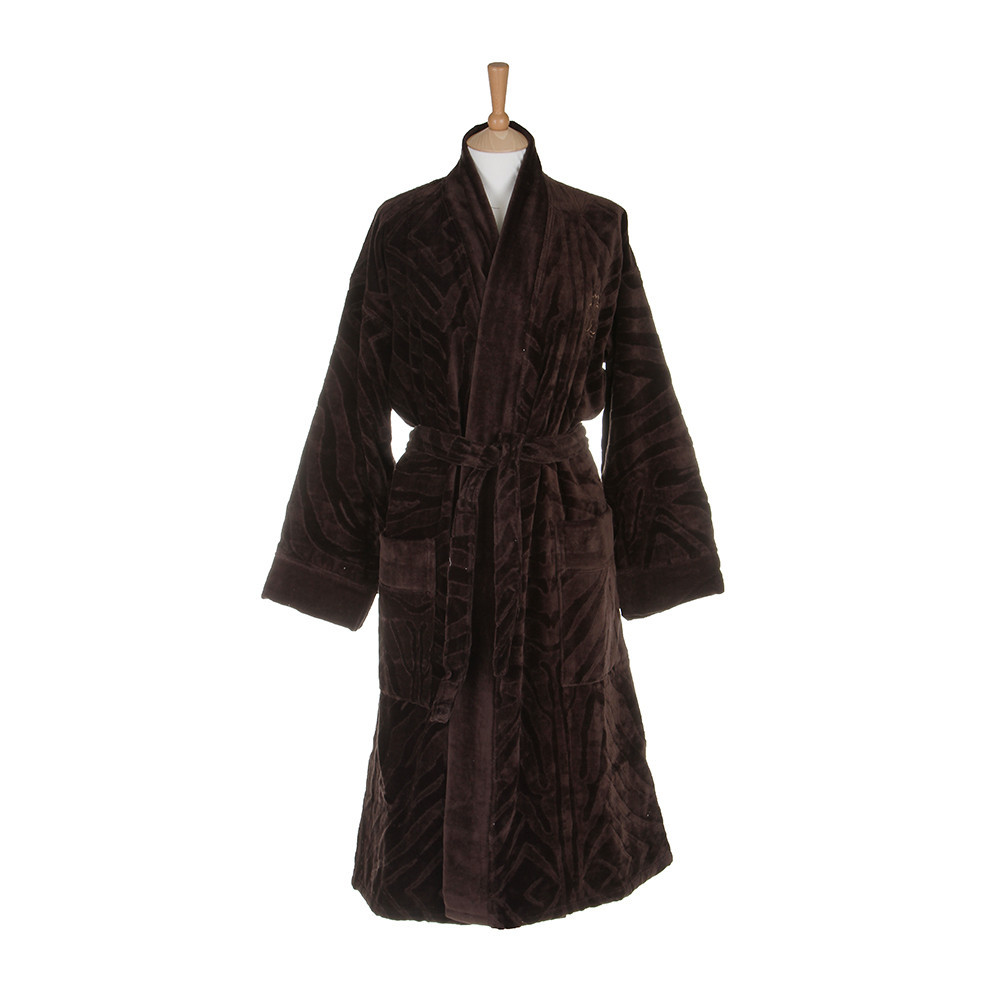 Халаты Халат-кимоно велюровый Zebrona коричневый от Roberto Cavalli elitnyy-halat-kimono-velyurovyy-zebrona-korichnevyy-ot-roberto-cavalli-italiya.jpg