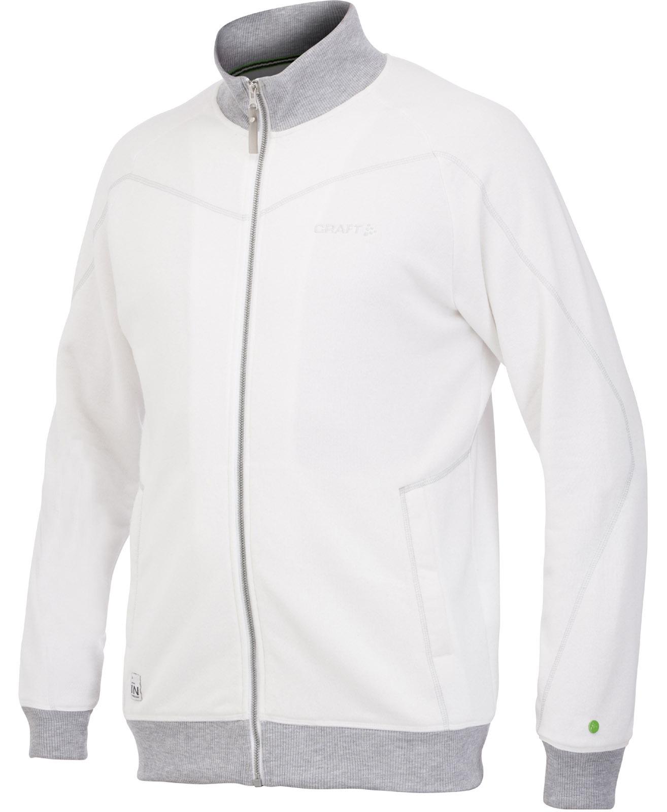 Мужская флисовая куртка Craft In the Zone белая (1902636-2395)