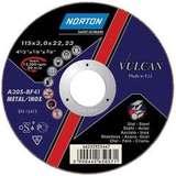 Отрезной круг NORTON VULCAN по металлу диаметр 125 мм х 1,6