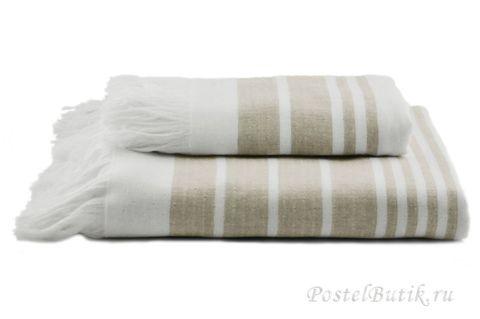Полотенце 50x100 Hamam Marine Towel дымчатое
