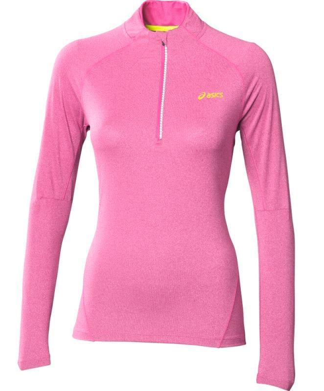 Рубашка Asics Jersey L/S 1/2 Zip женская