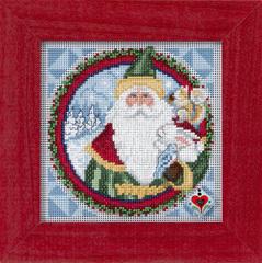 """Набор для вышивания бисером """"Отец Рождества"""""""