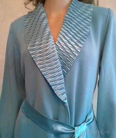 Элитный халат вязаный Alina от Jaycris-Artesania