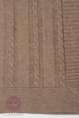 Элитный плед -покрывало Imperio 196 ореховый от Luxberry