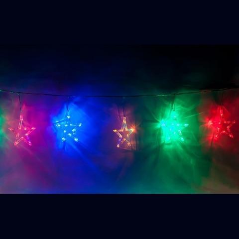 Гирлянда фигурная «снежинки» 230V 120 LED RGB, CL107 (Feron)
