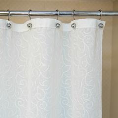 Элитная шторка для ванной 180х200 Embroidery 2555 Mix C. One от Arti-Deco